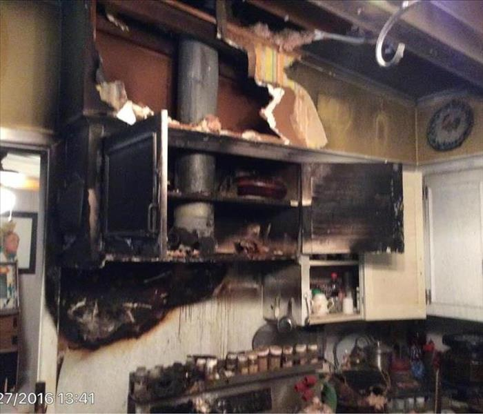 Grease Fire Affects Entire Home