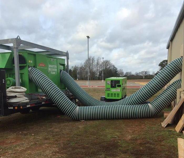 Frozen Pipe Burst Flooded East Texas Business